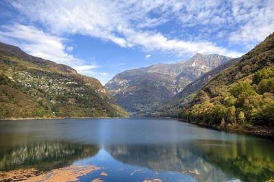 Lago Di Vogorno Print by Joana Kruse