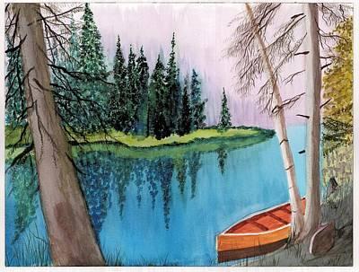 Lagoon 1 Original by David Bartsch