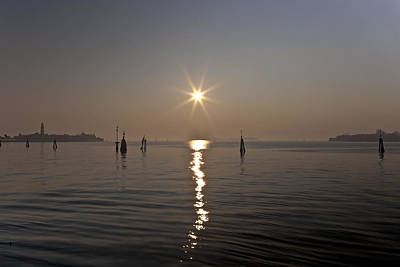 lagoon of Venice Print by Joana Kruse