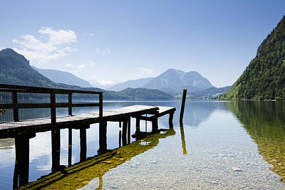 Styria Photograph - Lake Altausseer See by Jorg Greuel