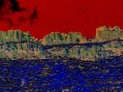 Lake Billy Chinook 3 Print by Randall Weidner