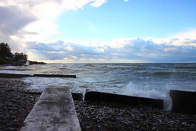 Lake Erie Fall Print by Kevin Schrader