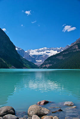 Banff Canada Photograph - Lake Louise by Mike Horvath