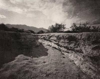 Lake Lucero Riverbed Original by Karla Ricker