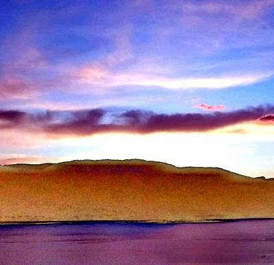 Raspberry Digital Art - Lake Okanagan Reverie by Will Borden