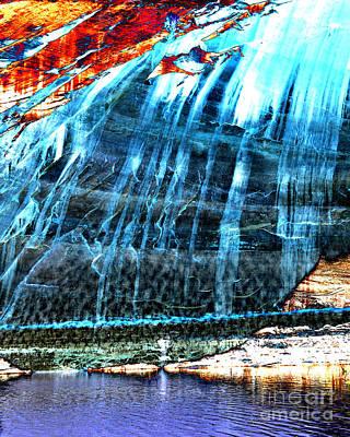 Bullfrog Photograph - Lake Powell Reflection by Rebecca Margraf