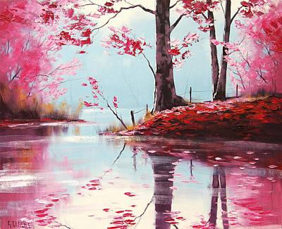 Lake Reflections Print by Graham Gercken