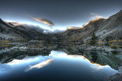 Lake Sabrina Bishop Ca Print by Joe  Palermo