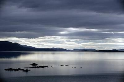 Lake Tornetrask, Sweden Print by Bob Gibbons