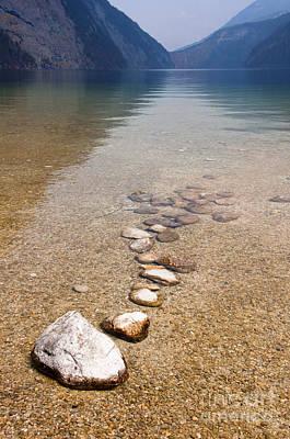 Lakestones Print by Andrew  Michael