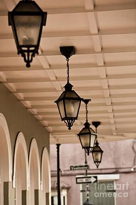 Leda Photograph - Lamps by Leslie Leda
