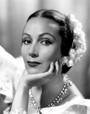 Fox Titles Photograph - Lancer Spy, Dolores Del Rio, 1937 by Everett