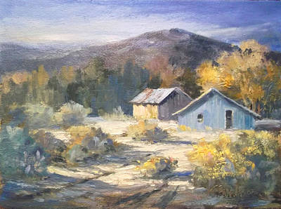 Painting - Land Grant by Tina Bohlman