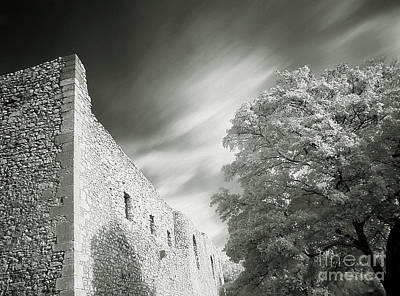 Landscape In Infra Red Print by Odon Czintos