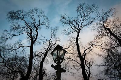 Lantern Print by Konstantin Dikovsky