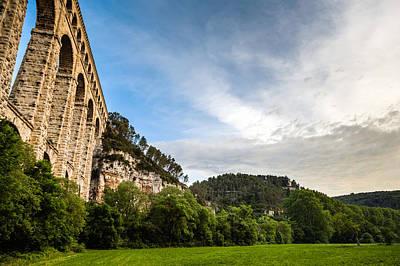 L'aqueduc De Roquefavour Print by Look Me Luck Photography