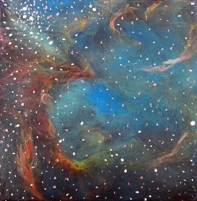Large Magellanic Cloud Print by Alizey Khan
