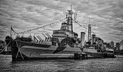 Largest In The Fleet Print by Heather Applegate