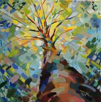 Eastern Europe Painting - Last Days Of Summer by Ksenia Wooster