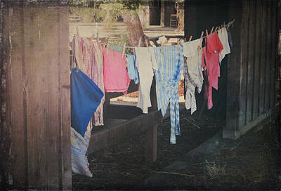 Clothes Clothing Photograph - Laundry Day by Laurie Search