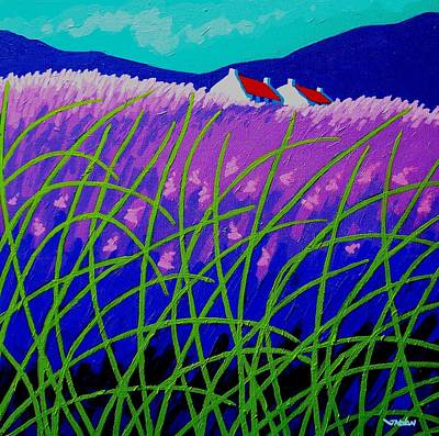 Impresionism Painting - Lavender Hill by John  Nolan