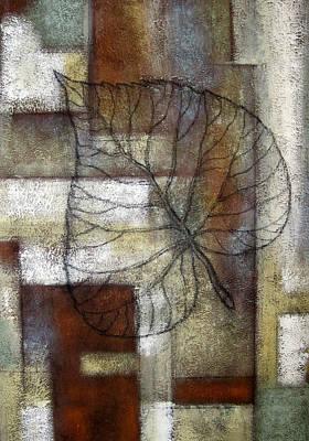 Leaf Whisper 1 Original by Leon Zernitsky