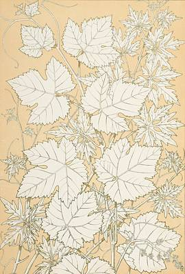 Leaves From Nature Print by Christopher Dresser