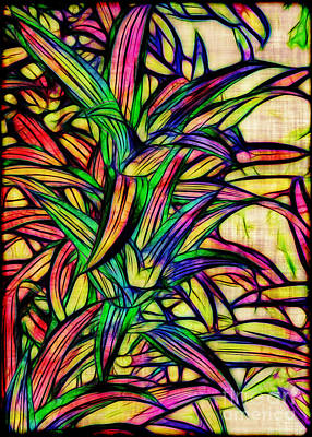 Leaves Of Imagination Print by Judi Bagwell