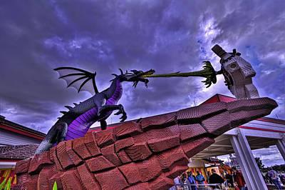 Lego Dragon Hdr Original by Jason Blalock