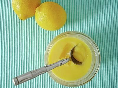 Lemon Photograph - Lemon Curd by Kate Brittle