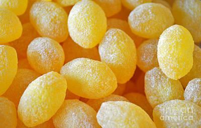 Lemon Drops Print by Gwyn Newcombe