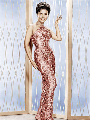 Evening Gown Photograph - Lena Horne, Ca. 1950s by Everett