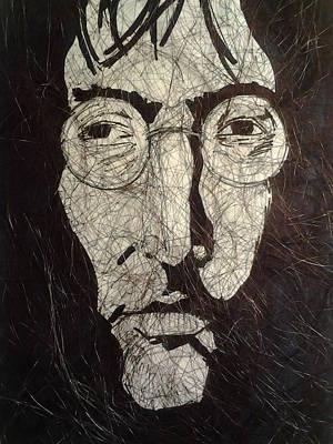 John Lennon Art Drawing - Lennon by Nzephany Madrigal Uzoka