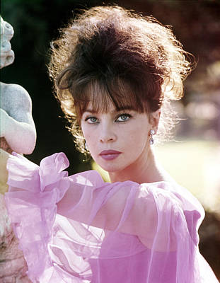 Leslie Caron, 1960s Portrait Print by Everett