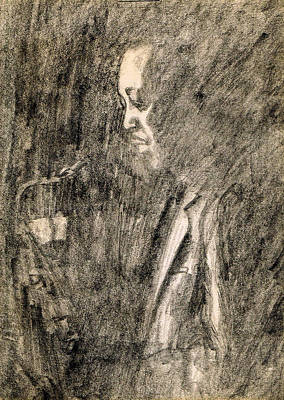 Saxophone Drawing - Lester Young by Mel Thompson
