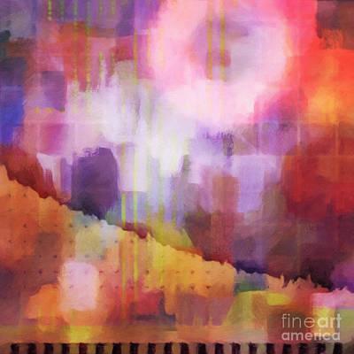 Zen Digital Art - Let It Shine by Lutz Baar