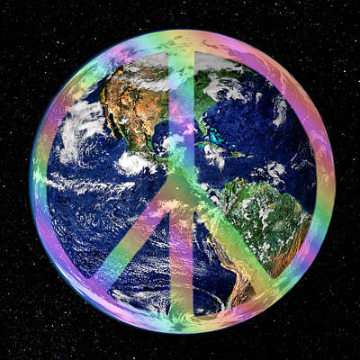 Peace On Earth Photograph - Let There Be Peace On Earth by Kristin Elmquist
