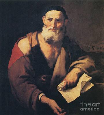 Leucippus, Ancient Greek Philosopher Print by Science Source
