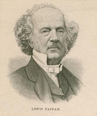 Lewis Tappan 1788-1873, Wealthy Print by Everett