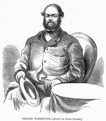 Lewis William Washington Print by Granger