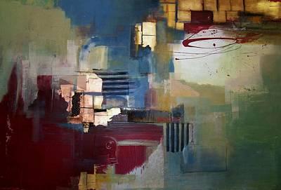 Ruins Mixed Media - Liberation by Asha Menghrajani