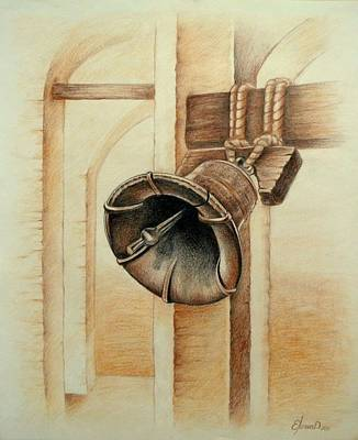 Pennsylvania Drawing - Liberty Bell by Lena Day
