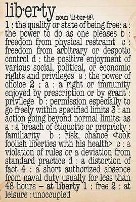 Free Speech Digital Art - Liberty by Monday Beam