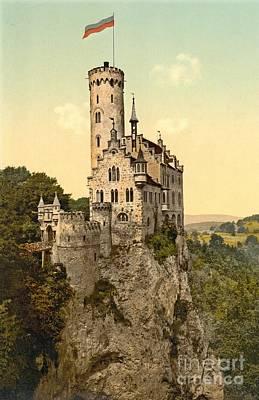 Lichtenstein Castle Print by Padre Art