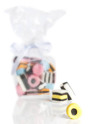Allsorts Photograph - Licorice Sweets by Amanda Elwell