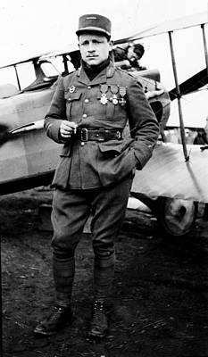 Lieutenant Raoul Lufbury Print by Everett