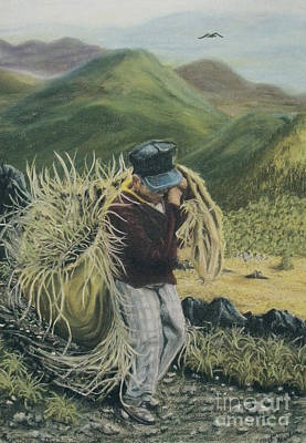 Life In The Fields Print by Jim Barber Hove