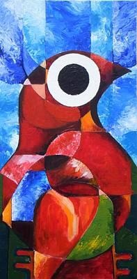 Loganville Painting - Life Spirit Affirmtion by Harold Bascom