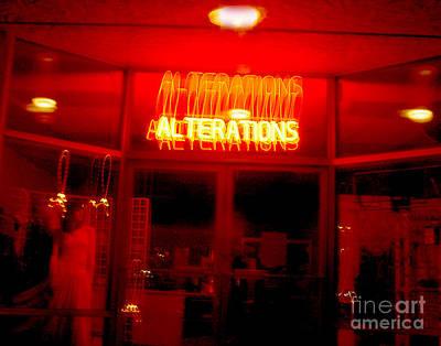 Abstract Digital Light Trails Photograph - Life's Little Alteration by Peter Piatt