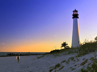 Light House Print by Andres LaBrada